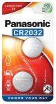 Gomb elem Panasonic Lithium CR2032 2DB