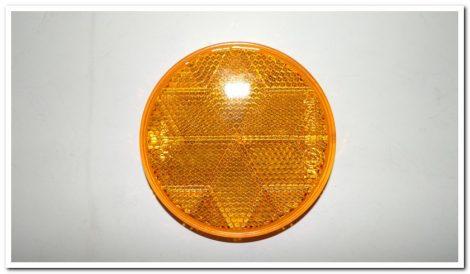 Prizma kerek sárga öntapadós
