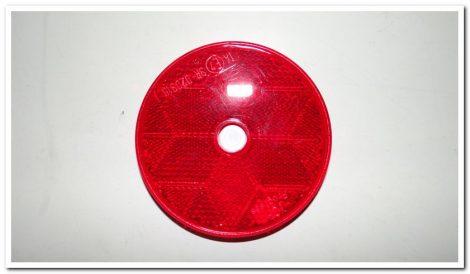 Prizma kerek piros öntapadós