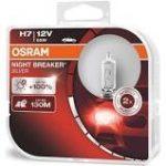 H7 55W OSRAM + 100% 2DB NIght Breaker Silver