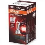 H11 12V 55W Osram +100% 1DB Night Breaker Pgj19-2