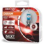 HB4 51W +150% Osram 2DB Night Breaker Laser P22d