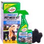 Turtle Wax háziállat tisztító szett 53050 Power Out Pet Mess