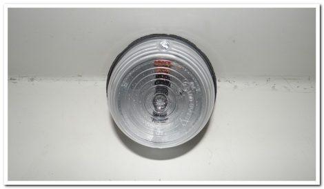 Kiegészítő lámpa fehér kerek