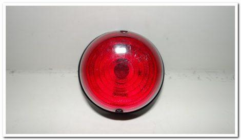 Kiegészítő lámpa piros kerek