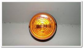 Kiegészítő lámpa sárga kerek