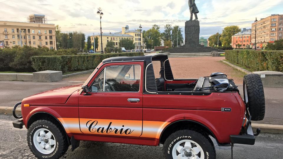 Lada Niva Cabrio oldalrol nemetgyartmany